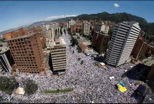 Geeralstreik in Bogota 21.11.2019 - Hunderttausende...