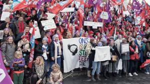 Historisch: Der erste Krankenhausstreik in den Niederlanden November 2019