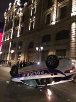 Zum selben Zeitpunkt am 16.11.2019, als der Pariser Polizeipräsident verkündete, alles im Griff zu haben...