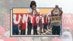 Solidaritätsaktionen mit den verfolgten GewerkschafterInnen auf den Philippinen fanden überall im Lande selbst statt