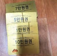 Fpr solche Gutscheine bekommt man in Südkorea: Nichts...