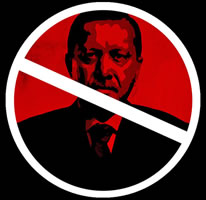 Erdogan: not welcome