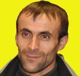 Der kurdische Aktivist Mustafa Celik im Januar 2020 willkürlich festgenommen