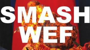 Plakat gegen das WEF in Davos im Januar 2020