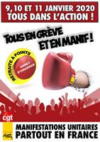 """Frankreich: Streikbewegung gegen die Renten""""reform"""" vor absolut entscheidender Woche mit Aktionstagen am 9. und 11. Januar"""
