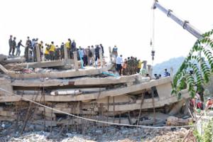 Gebäudeeinsturz Kambodscha Januar 2020 wieder 36 Todesopfer