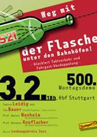 [Montag, 3. Februar 2020] 500. Montagsdemo gegen Stuttgart21