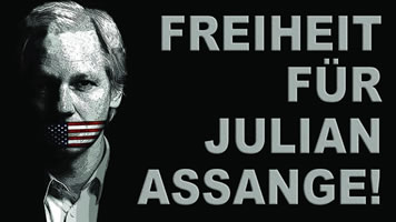 Freiheit für Julian Assange! (Bild: Kritisches Netzwerk)