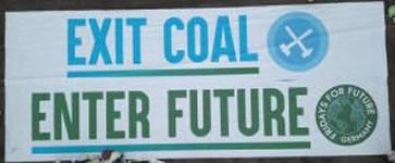 Ende Gelände: Exit Coal enter Future