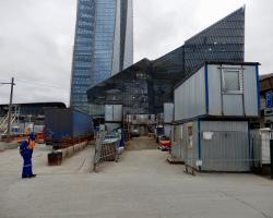 Das grösste Hochhaus Europas in Petersburg - von unbezahlten zentralasiatischen Bauarbeitern gemacht...