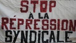 SUD: Stop à la Repression syndicale