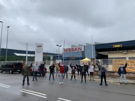 Nissan Barcelona: Streik im Mai 2020 gegen Werksschliessung