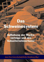 """Buch """"Das Schweinesystem"""", herausgegeben von Jour Fixe Gewerkschaftslinke Hamburg bei Die Buchmacherei"""