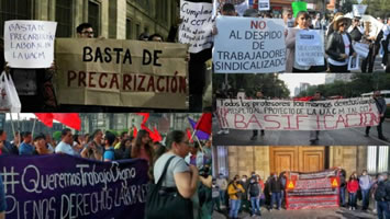 """Mexiko: Gründung im Juni 2020 des """"Movimiento Nacional contra la Precarización Laboral y los Despidos"""""""