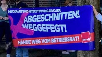 Angriff auf die Mitbestimmung bei Deutschlands größter Friseurkette Klier in Hamburg: Solidarität mit gekündigten Betriebsrätinnen