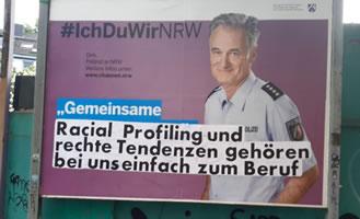 Auch die Bochumer Polizei fühlt sich von ihren KritikerInnen bedroht...