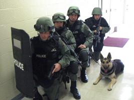 SWAT Team der US Polizei