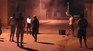Konfrontation in Meknessy, Mitteltuesien am 15.6.2020: Solidarisch mit den Bergarbeitern gegen die Polizei