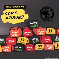 #BrequedosApps (Bremse der Apps) - Streik der Kuriere in Brasilien am 1. Juli 2020