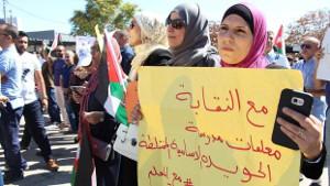 Der erfolgreiche Streik der LehrerInnen in Jordanien 2019 - und nun die Revanche der Regierung...