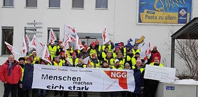 Tarifvertrag für Riesa NUDELN! Keine Repressalien gegen den Betriebsrat!