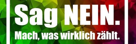 »Dein Jahr für Deutschland« - sag Nein!