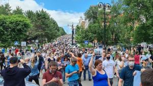 Massenproteste in Sibirien - eine neue Entwicklung in Russland im Juli 2020