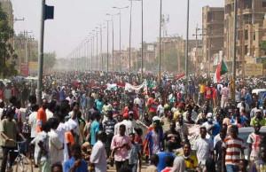 Neue Massendemonstrationen für Demokratie im Sudan hier in Khartum am 30.6.2020
