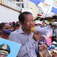 Rong Chhun, Präsident des kambodschanischen Gewerkschaftsbundes (CCU)