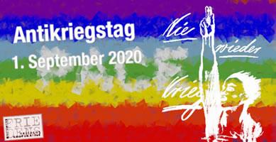 Antikriegstag am 1. September 2020