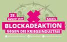 Aktionstag am 28. August 2020 in Kassel: Gemeinsam blockieren wir die Rüstungsindustrie