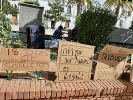 Nach den Brandanschlägen gegen afrikanische ErntehelferInnen in Spanien werden Protestaktionen organisiert