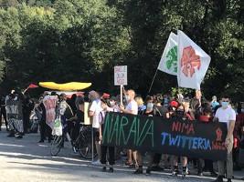 Bevölkerung von Anhovo in Slowenien im Kampf gegen das tödliche Zementwerk