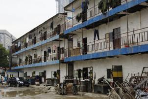 Wohnkaserne für MigrantInnen in Beijing 2020