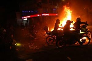 Proteste in Kolumbiens Hauptstadt, nachdem die Welle an Polizeimorden sie erreicht hat - September 2020