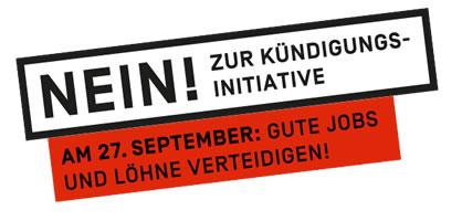 Nein zur SVP-Kündigungsinitiative am 27. September 2020
