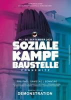 Kampf um Connewitz/Leipzig im September 2020