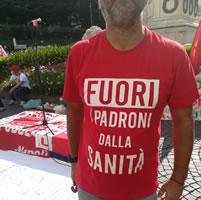 16. September 2020: Italienweiter Streiktag im privaten Gesundheitssektor. Foto: Maurizio C.