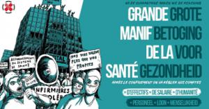 Mobilisierung zur Gesundheitsdemo in Brüssel am 13.9.2020