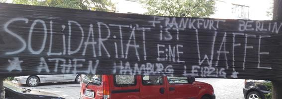 Razzien in Athen und Berlin: Und wieder kreieren sie eine kriminelle Vereinigung