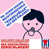 VVN: Den Naziklüngel zerschlagen!