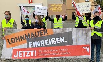 NGG: Streikwoche bei Lausitzer Früchte im Oktober 2020