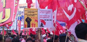 Generalstreik Indien 26.11.2020