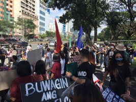 Der Beginn des Studierendenstreiks auf den Philippinen am 17.11.2020