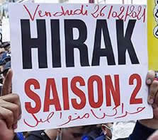 Der Hirak in Algerien lebt: Trotz Versammlungsverbots und Repression geht die Protestbewegung weiter...