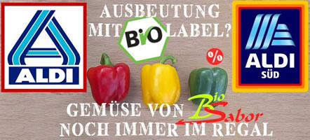 Interbrigadas: Ausbeutung mit Bio-Label - Gemüse von BioSabor noch immer im Regal