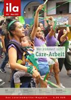 ila 443 mit dem 40seitigen Schwerpunkt Care-Arbeit