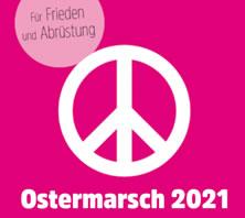 Ostermärsche 2021 der Friedensbewegung