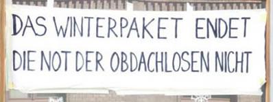 """Kampf um das Notquartier in der Gudrunstraße in Wien: """"Unser Widerstand ist Notwehr"""""""