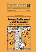 isw-wirtschaftsinfo 59: Corona: Profite zuerst – statt Gesundheit